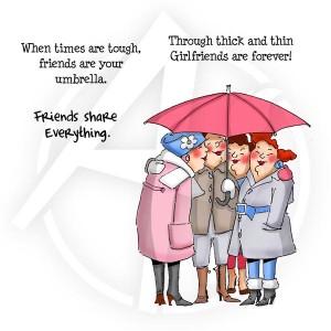 Under my Umbrella Set - 4048