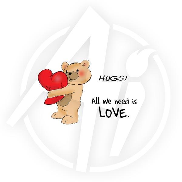 Valentine Bear Set - 4218