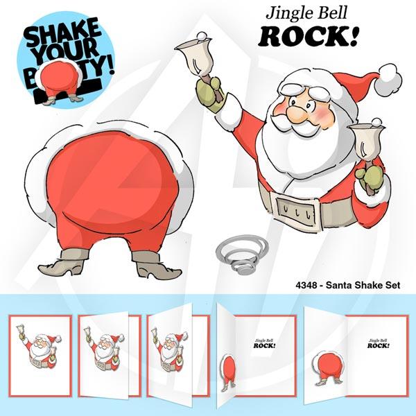 Santa Shake Set - 4348