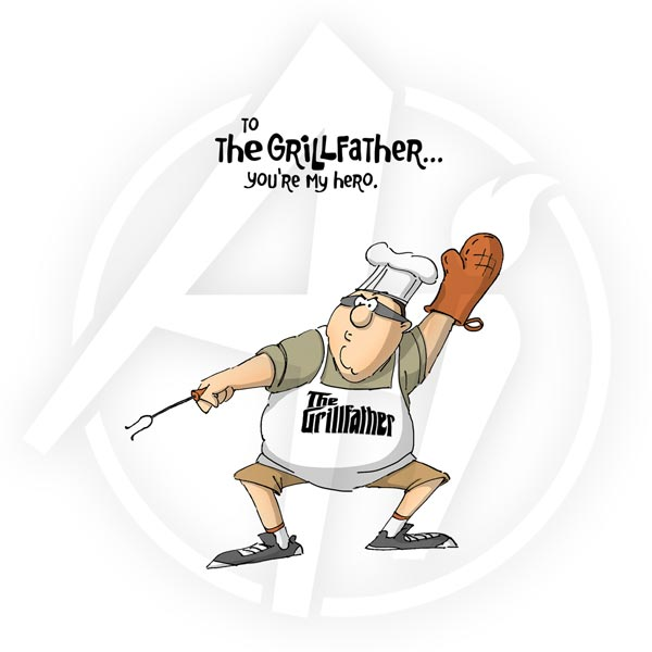 Grill Father - 4375