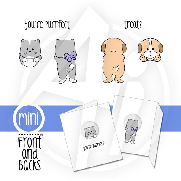 Cat & Dog Mini Set - 4402