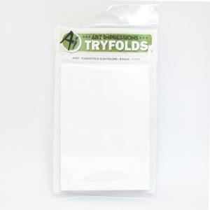 4457 Cardstock & Envelope White