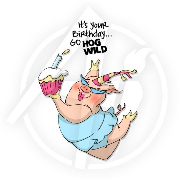 Hog Wild Birthday - 4472