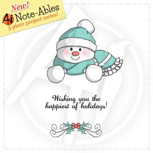 Snowman Note-able - 4511