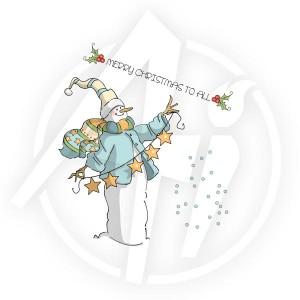Christmas to all Set - 4517