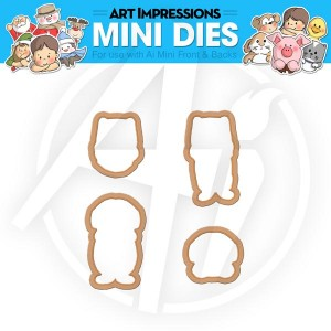 Cat & Dog Mini Dies - 4535