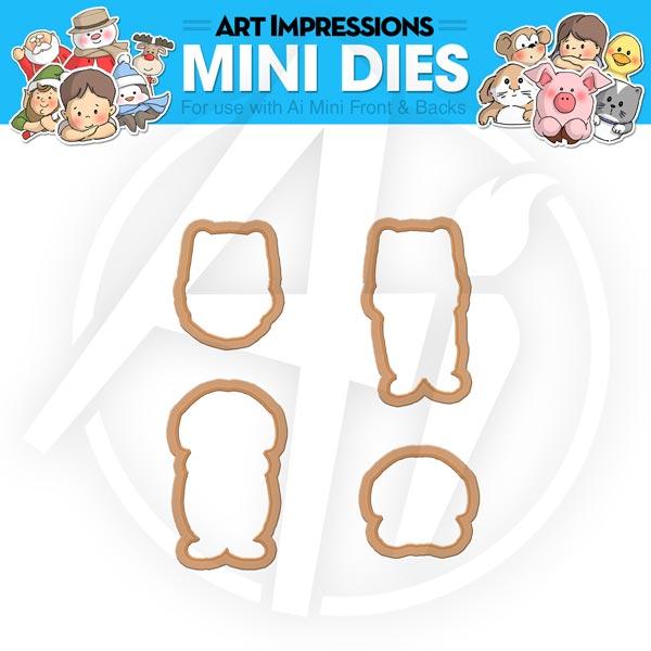 Cat & Dog Mini Dies - 4535