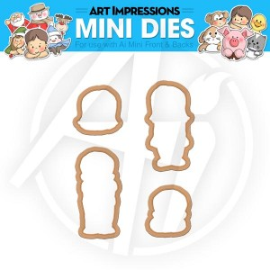 Boy & Girl Mini Dies - 4536