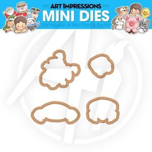 Frog & Crab Mini Dies - 4539
