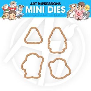 Santa & Mrs. Mini Dies - 4541