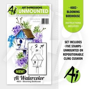 Blooming Birdhouse - 4603
