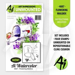 Flowering Mailbox - 4607