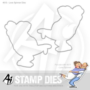 Love Spinner Dies - 4613