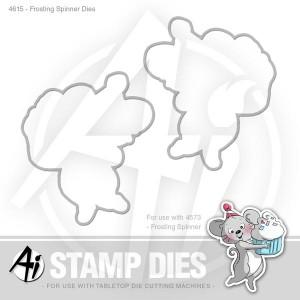Frosting Spinner Dies - 4615