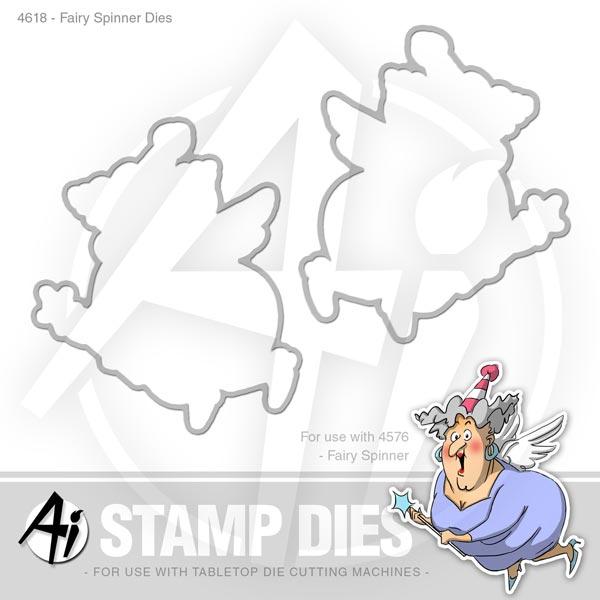 Fairy Spinner Dies - 4618