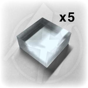 "1"" Block - 5 Pack - 4663"