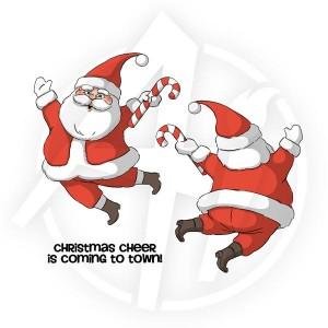 Santa Spinner - 4678
