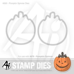 Pumpkin Spinner Dies - 4695