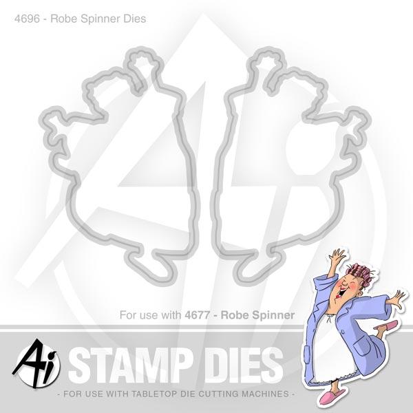 Robe Spinner Dies - 4696