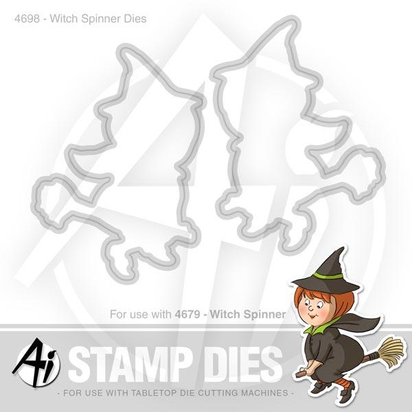 Witch Spinner Dies - 4698