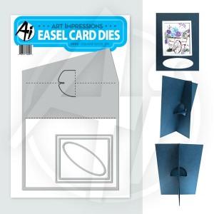 Square Easel Die - 4699