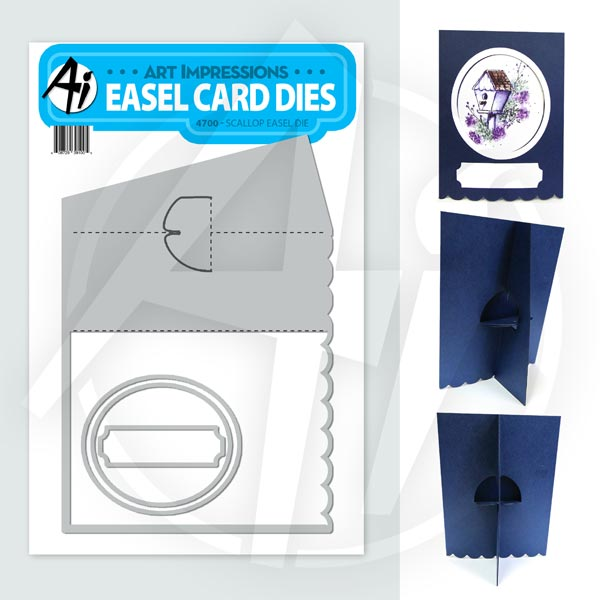 Scallop Easel Die - 4700