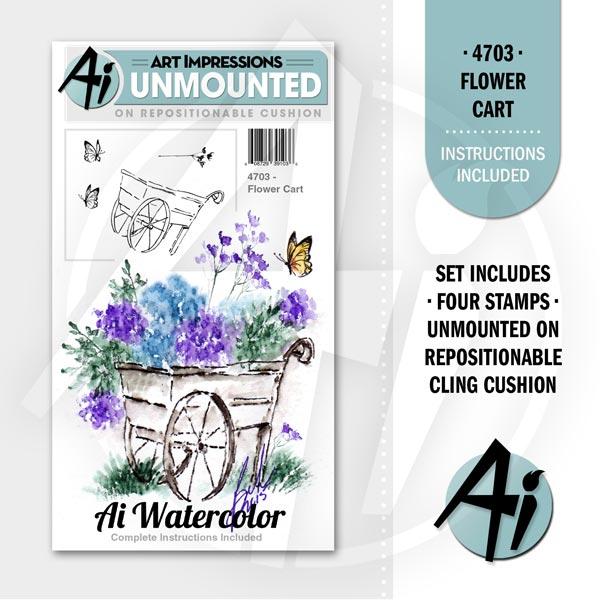Flower Cart - 4703