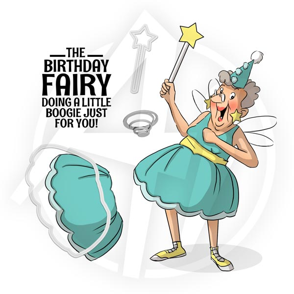 Birthday Fairy Set - 4730