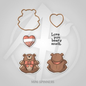 Mini Bear Spinner Set - 4736