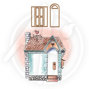 Cottage & Die Set - 4746