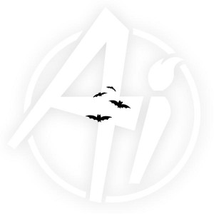 Flying Bats - D1265