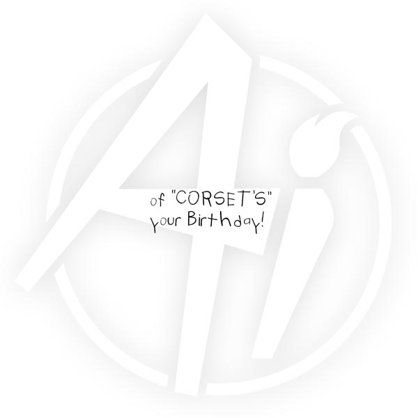 of Corset! - D1890