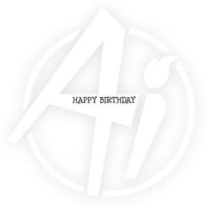 GF Happy Birthday - E3578