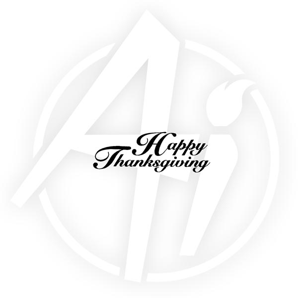 Happy Thanksgiving - F1655