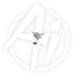 Hanging Spider - F1771