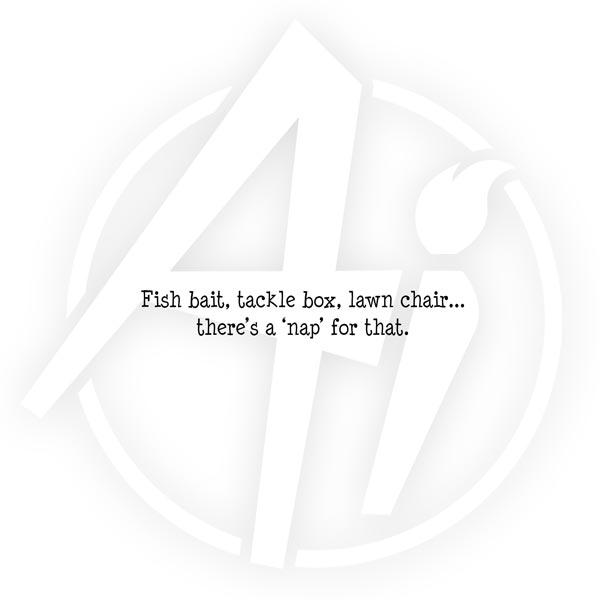 Fish Bait Nap - G4155