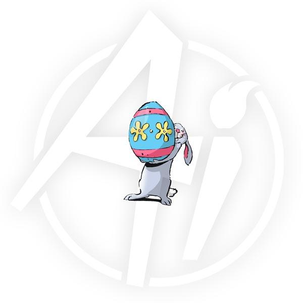 Sm Bunny & Egg - H3099