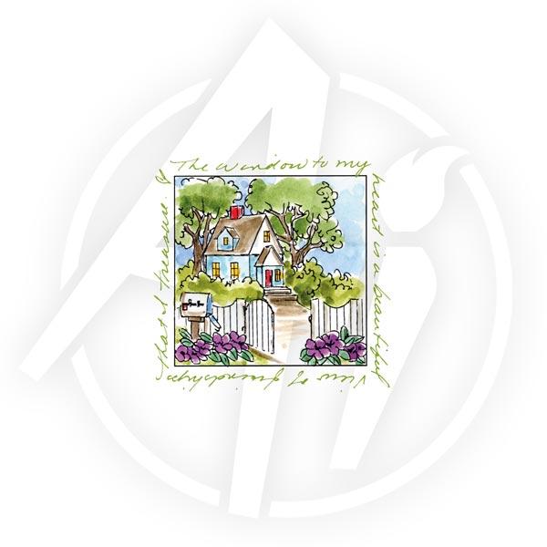 Cottage Window - M3177