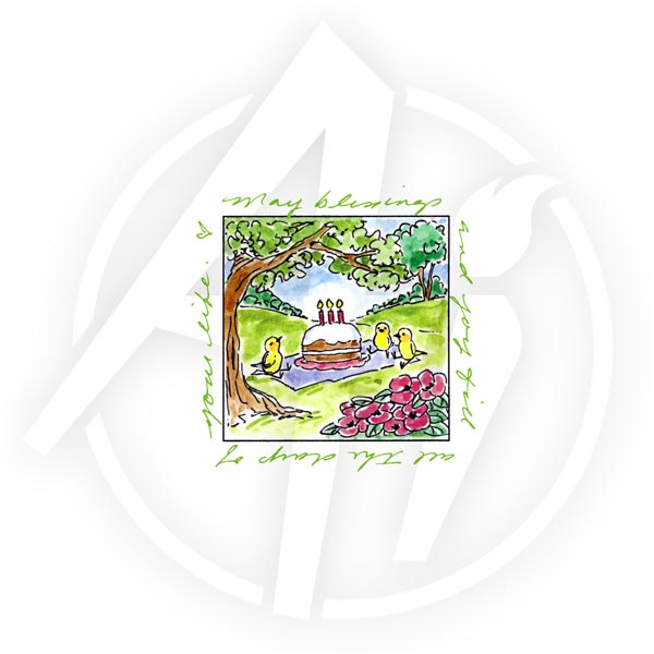 Birthday Picnic Window - M3188