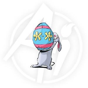 Bunny & Egg - P3098