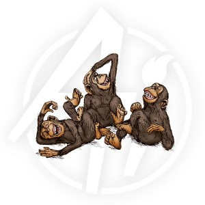 Laughing Chimps - T1556