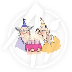 Birthday Couple - T1920