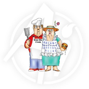 BBQ Couple - T3478