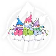 Christmas Snowmen - T3609