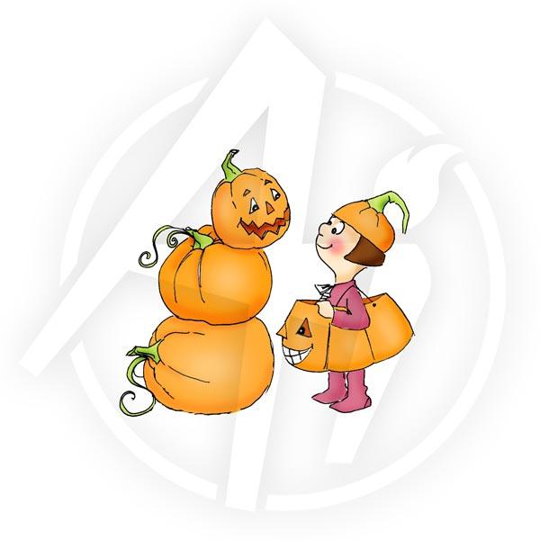 halloween pumpkins - T3614