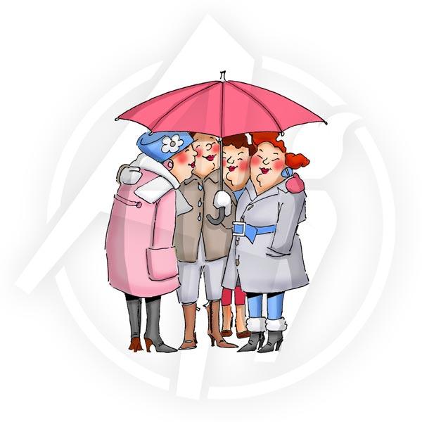 Under my Umbrella - T4010