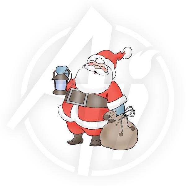 Christmas Santa - T4171