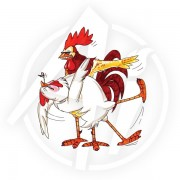 Dancing Birdie & Scratch - U1831