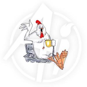 Birdie & Egg Carton - U1842