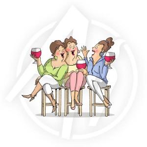 Wine Tasters - U4387